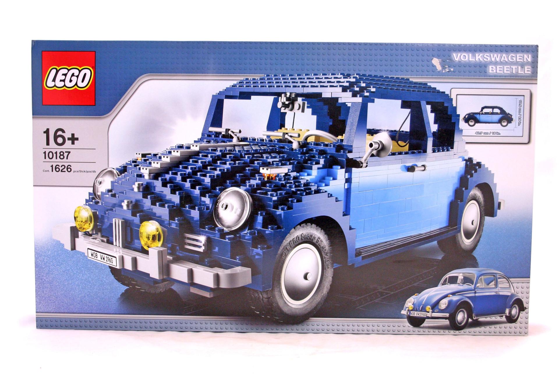 Volkswagen Beetle Lego Set 10187 1 Nisb Building Sets