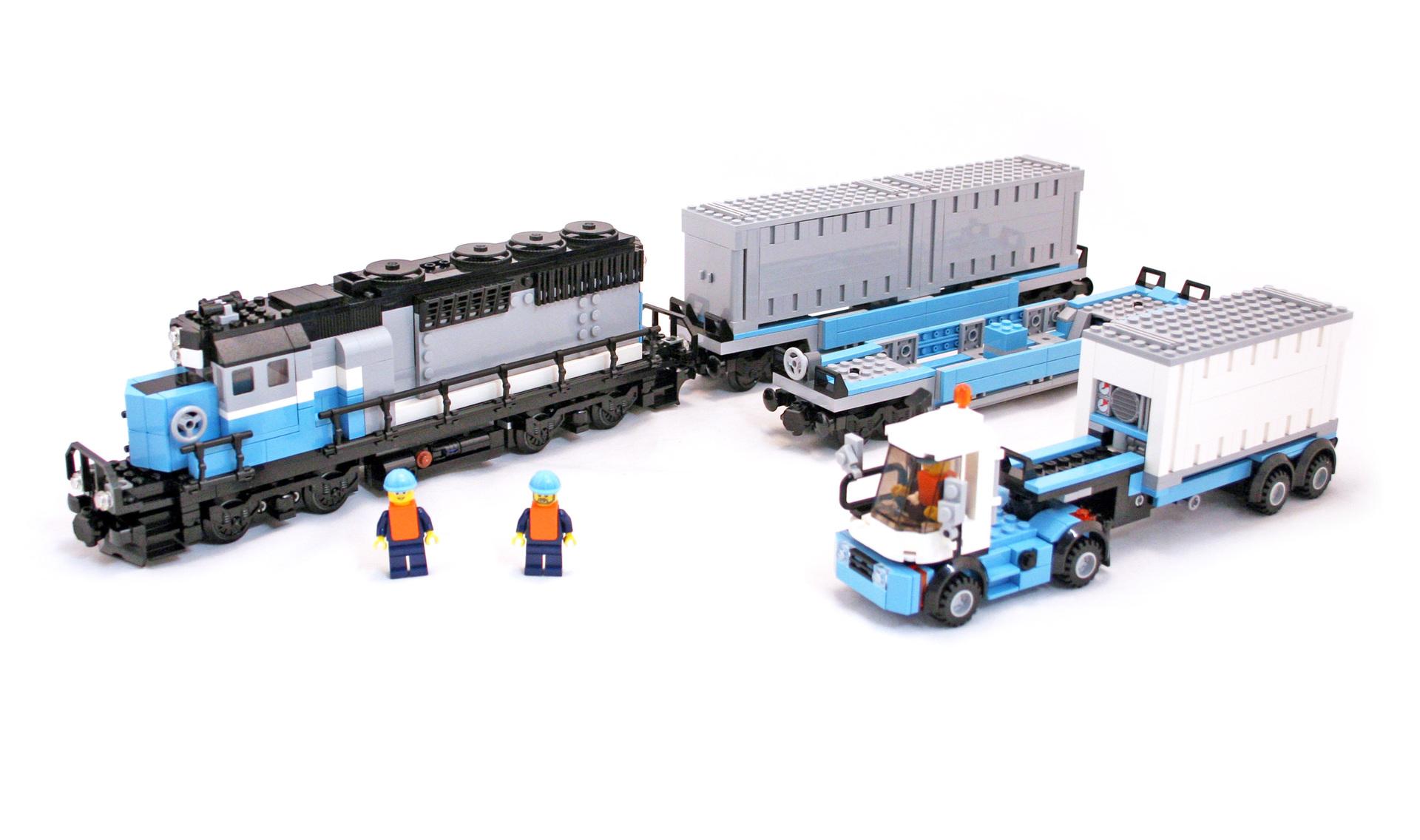Maersk Train - LEGO set #10219-1 (Building Sets > City)