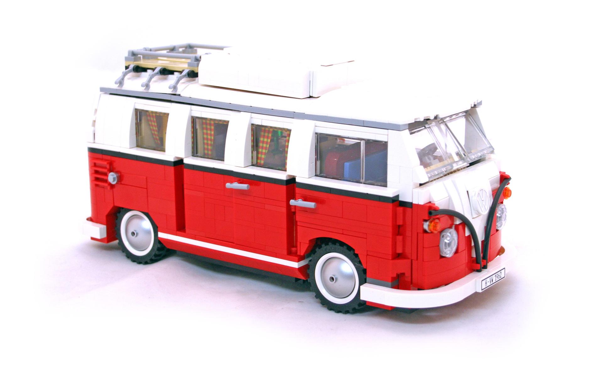 volkswagen  camper van lego set   building sets creator