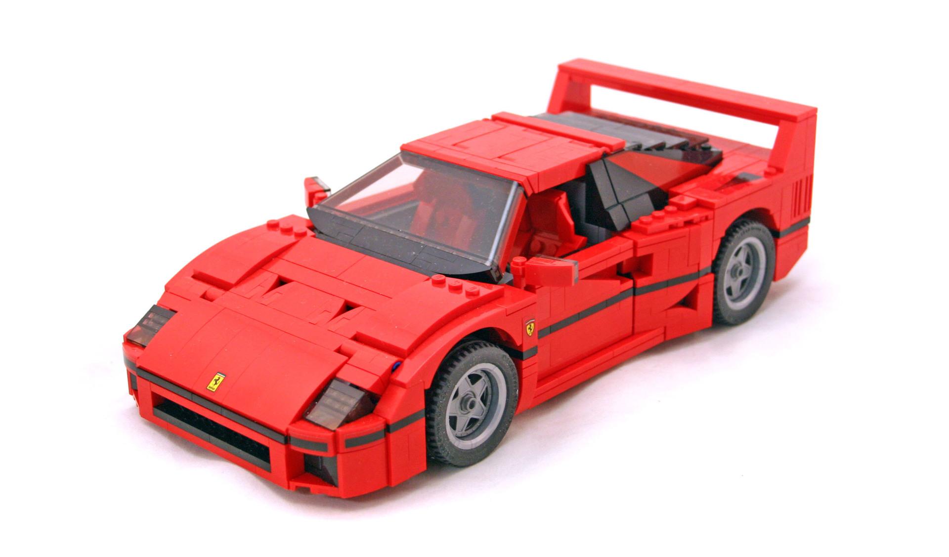 Ferrari F40 For Sale >> Ferrari F40 - LEGO set #10248-1 (Building Sets > Creator)