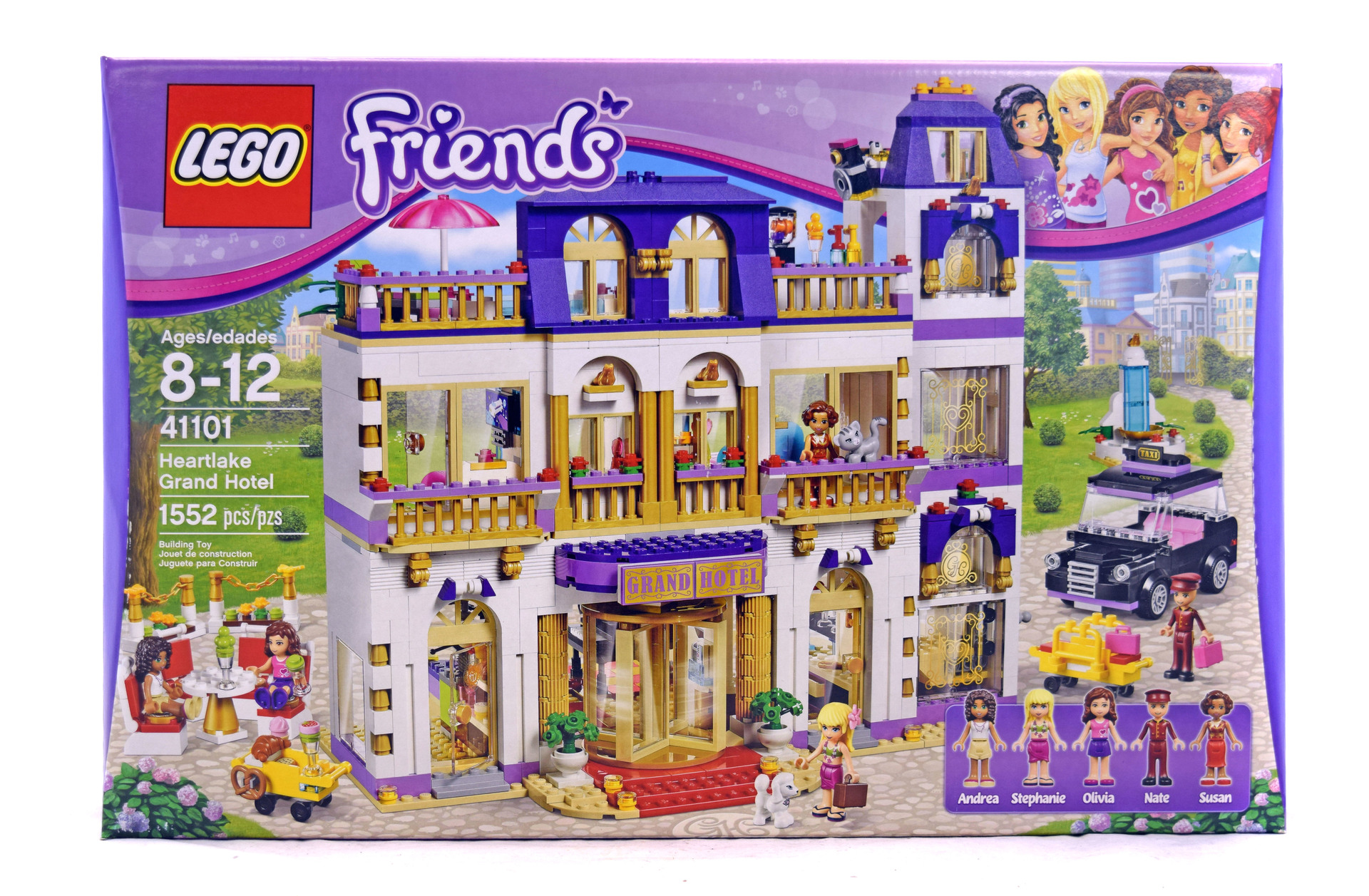 Heartlake Grand Hotel - LEGO set #41101-1 (NISB) (Building ...