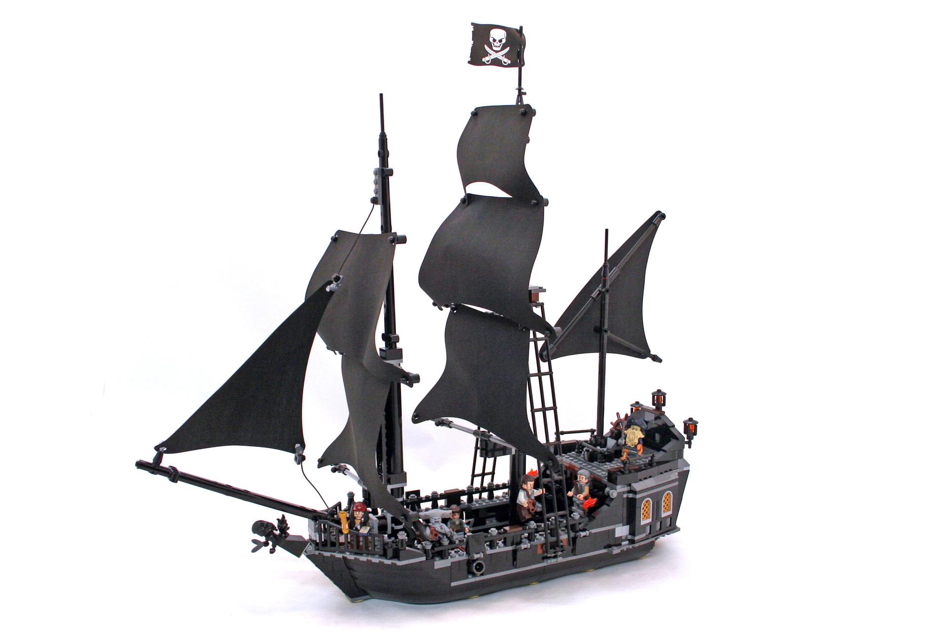 Black Pearl Lego Set 4184 1 Building Sets Gt Pirates