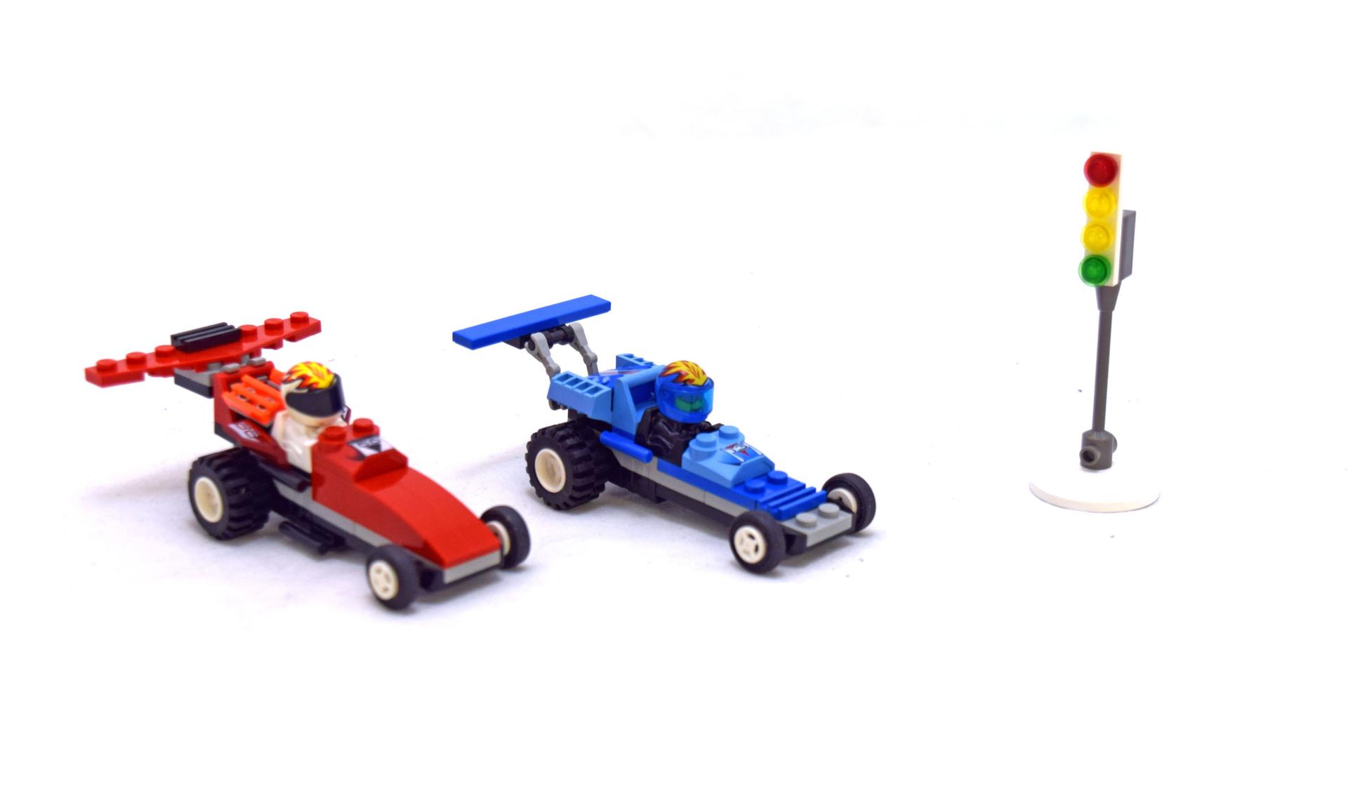 Zero Hurricane and Red Blizzard - LEGO set #4593-1 ...