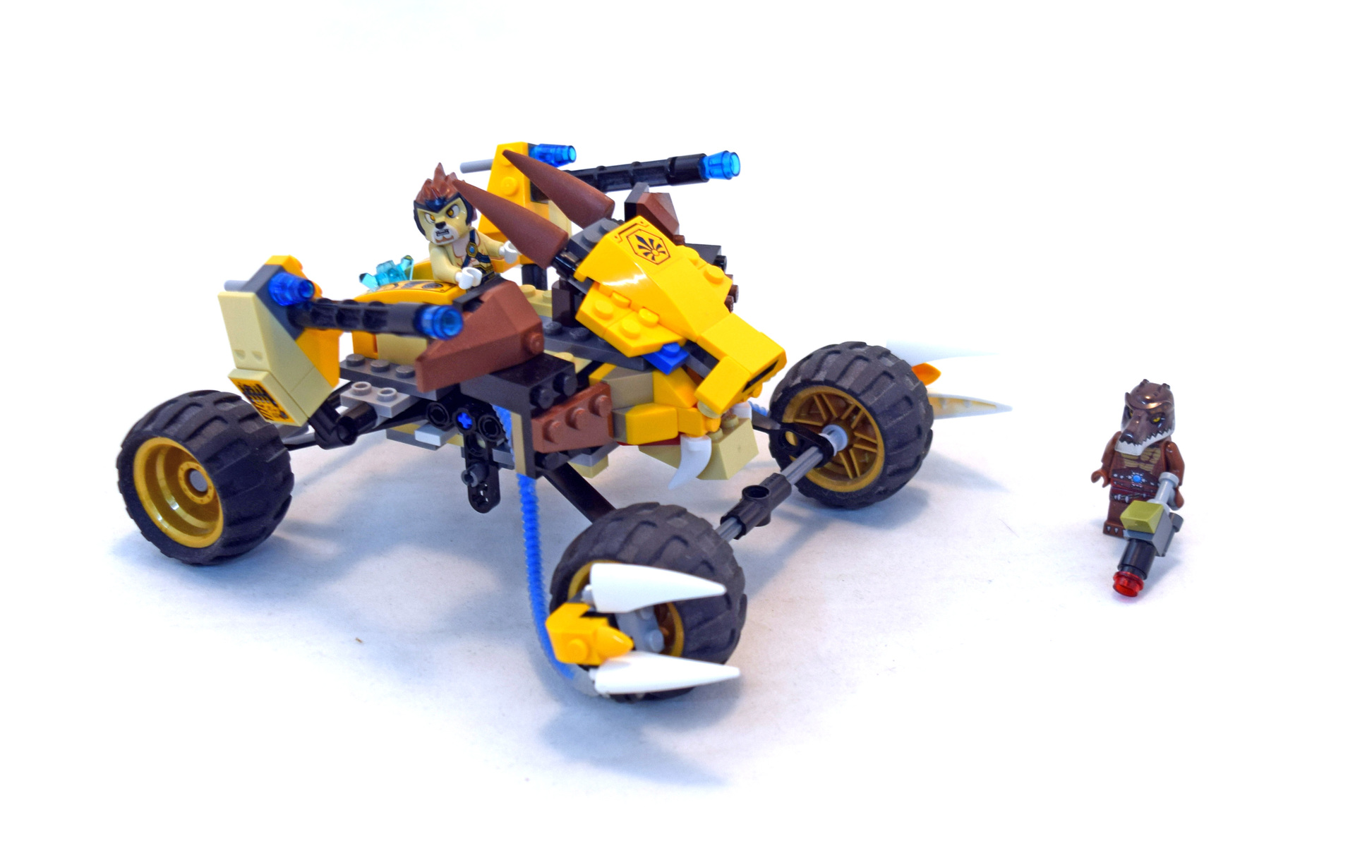 Lego Legends Of Chima Lennox Minifigure From Set 70002 Lennox/' Lion Attack