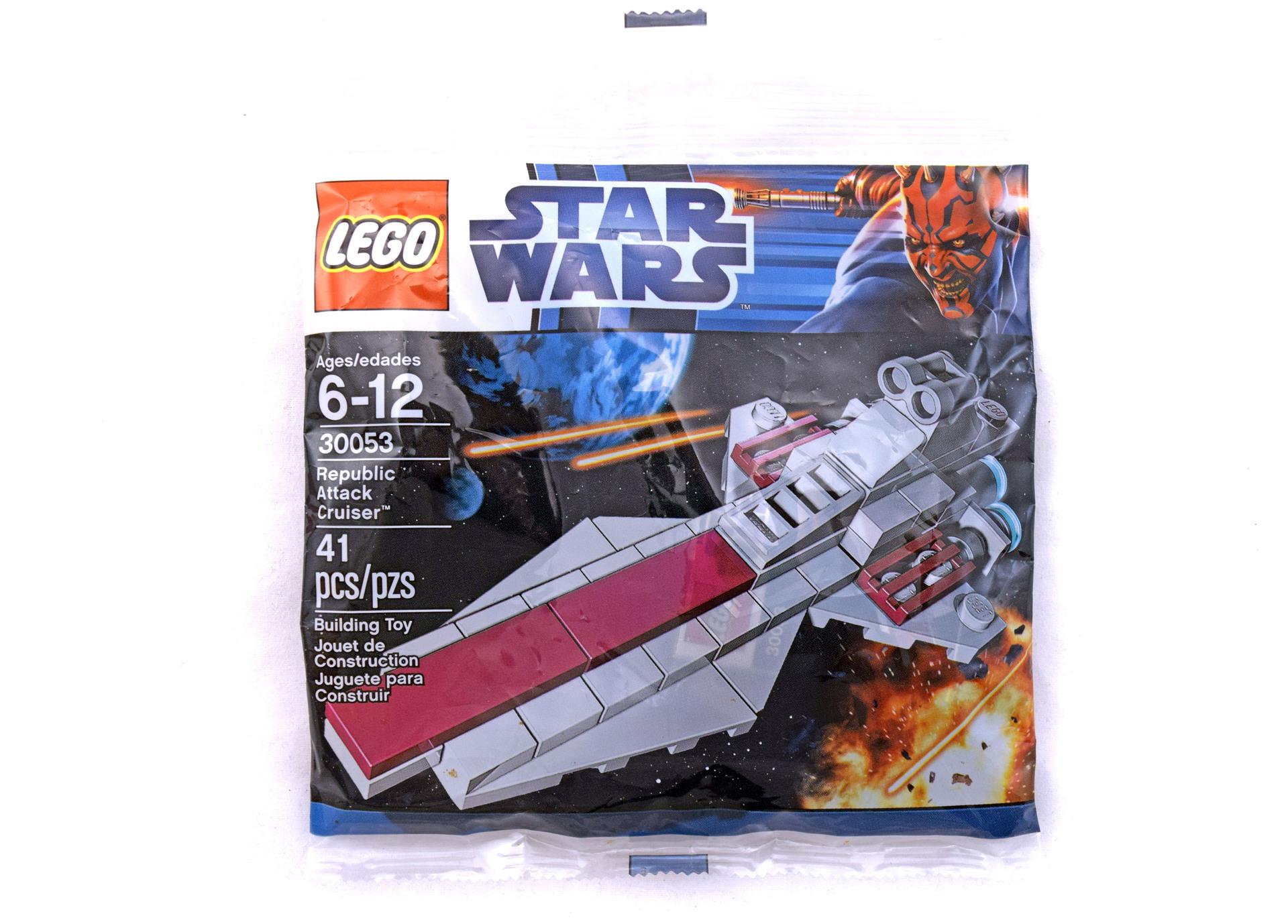 Lego Republic Attack Cruiser Polybag Set 30053 Brand New