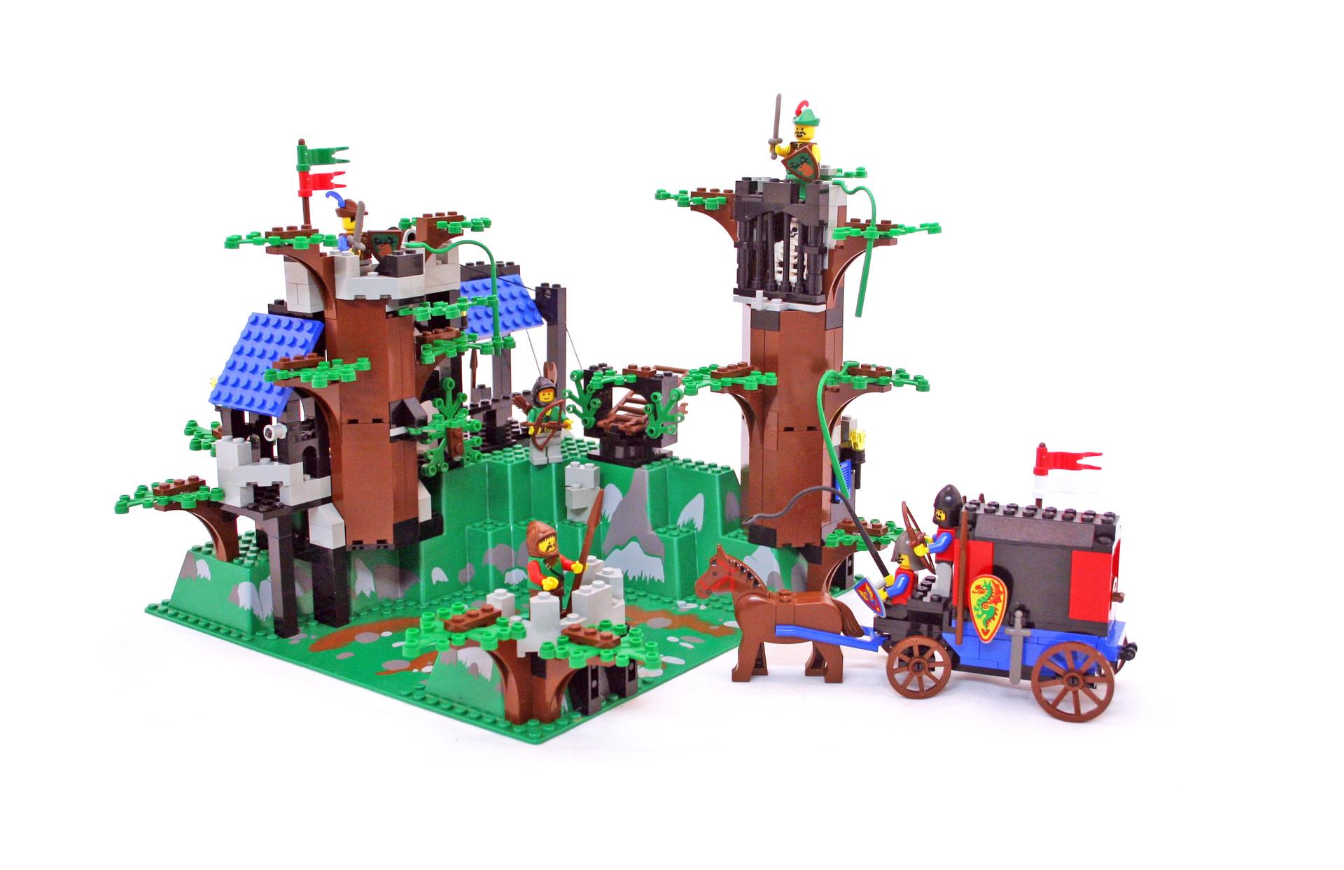 Lego castle castle oldbrown wall ref 2345//set dark forest fortress 6097 6020