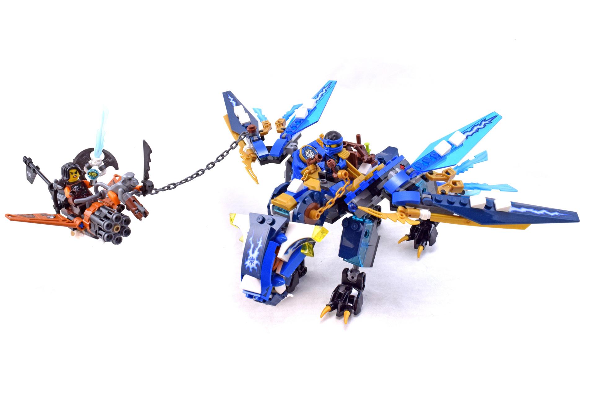Jay's Elemental Dragon - LEGO set #70602-1 (Building Sets ...