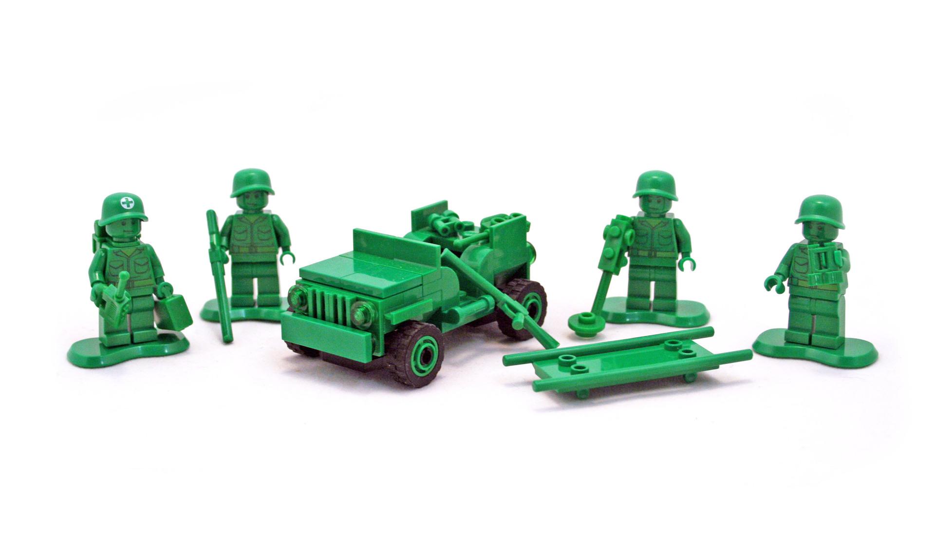army men on patrol lego set 7595 1 building sets toy story. Black Bedroom Furniture Sets. Home Design Ideas