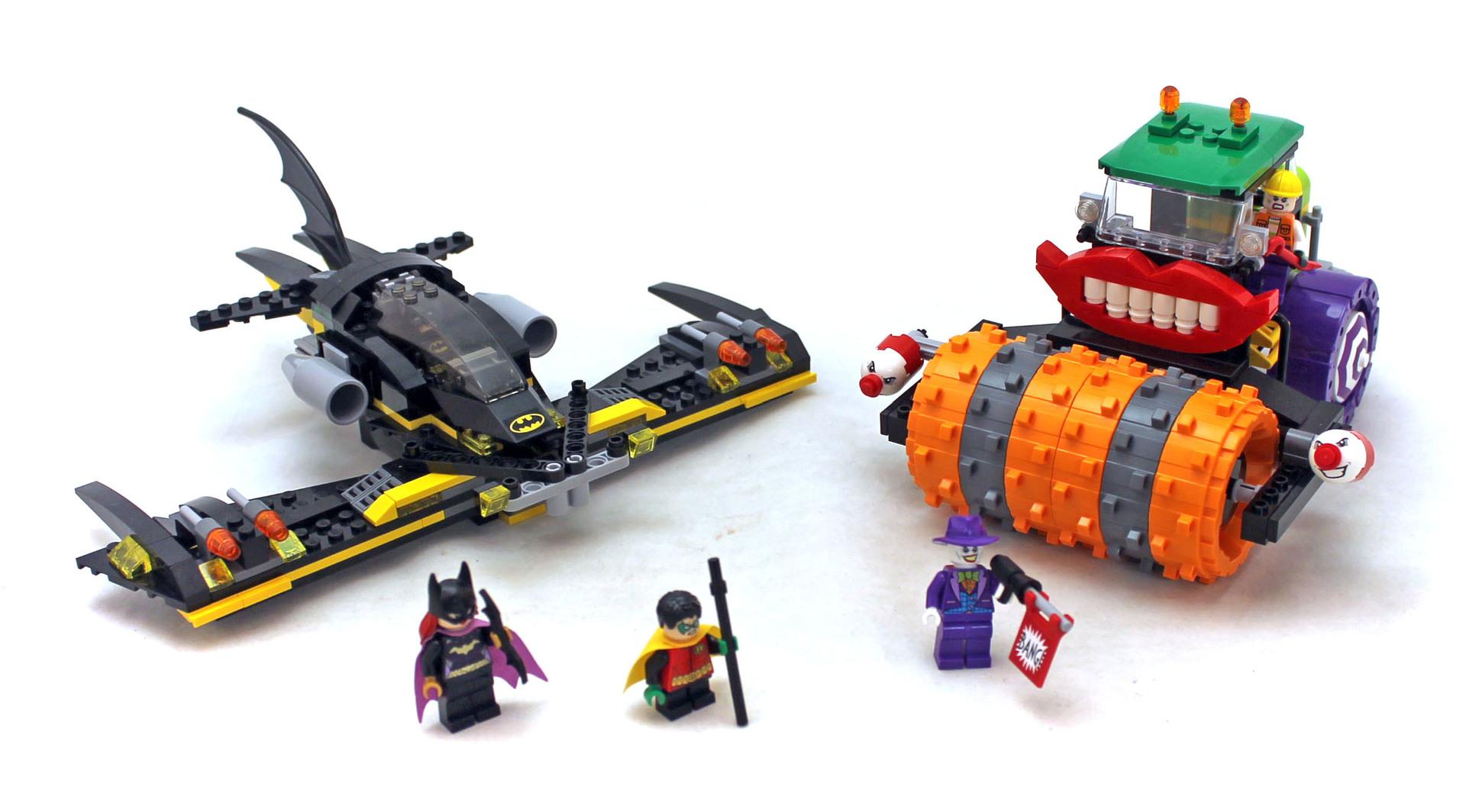 Batman: The Joker Steam Roller - LEGO set #76013-1 ...