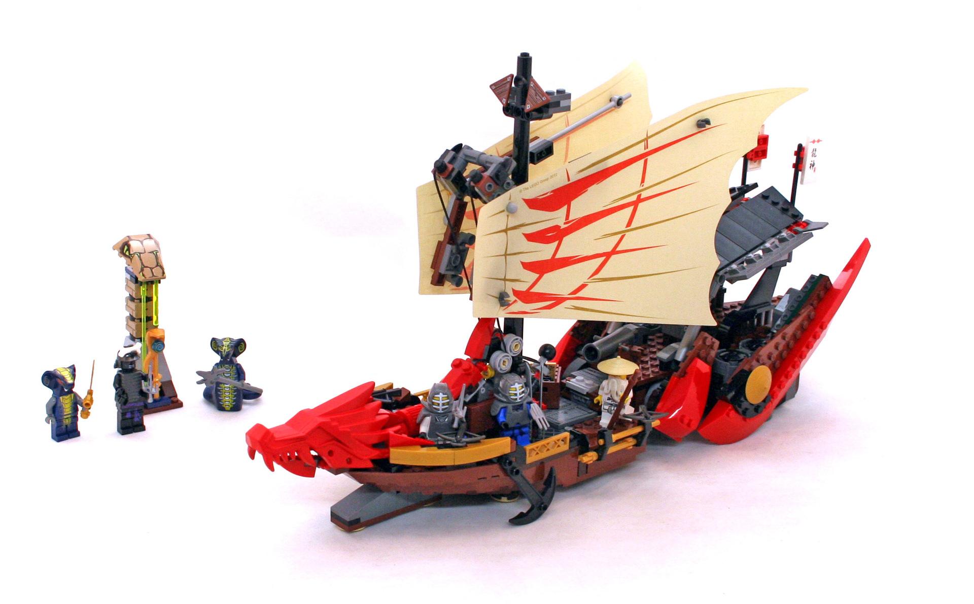Destiny's Bounty - LEGO set #9446-1 (Building Sets > Ninjago)
