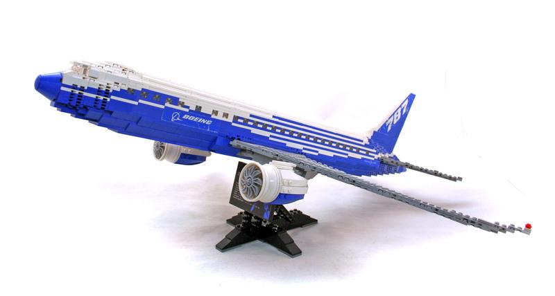 Boeing 787 Dreamliner - LEGO set #10177-1