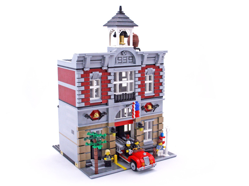 Fire Brigade Lego Set 10197 1 Building Sets Gt City Gt Modular Buildings