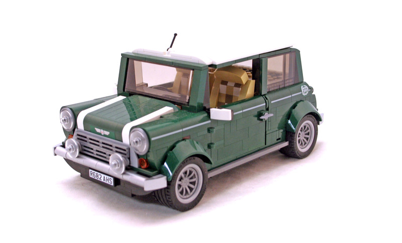 Mini Cooper MK VII - LEGO set #10242-1