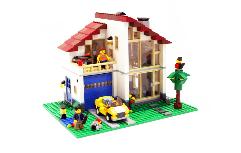 cool lego house instructions