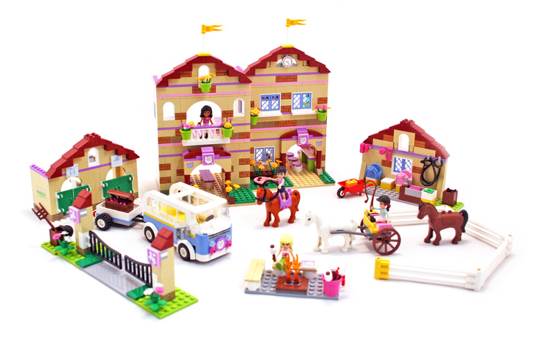 lego friends horse stable instructions