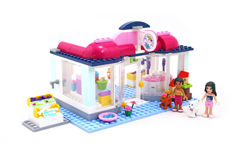 Heartlake pet salon lego set 41007 1 building sets for Lego friends salon de coiffure