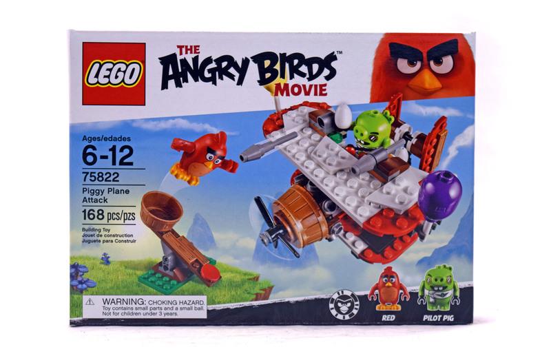Piggy Plane Attack - LEGO set #75822-1 (NISB)