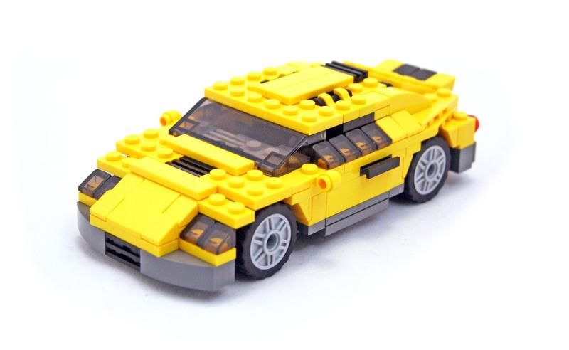Cool Cars - LEGO set #4939-1