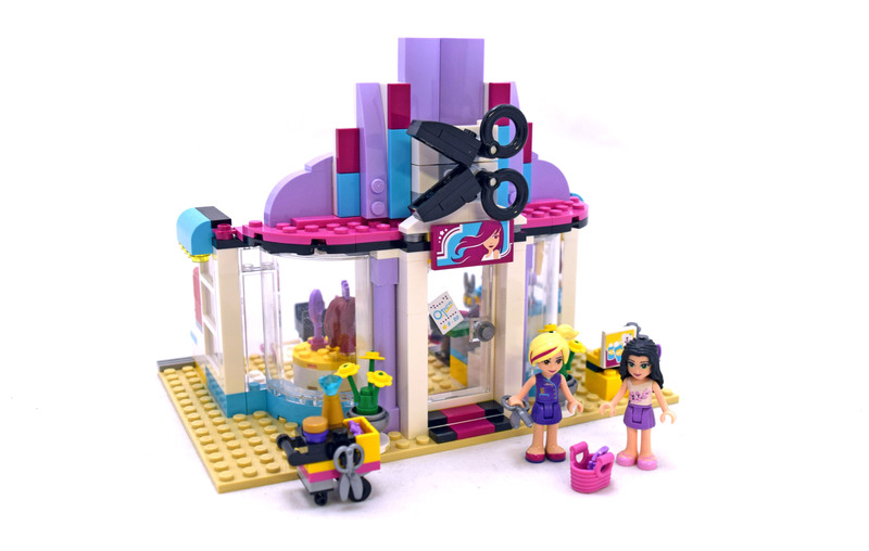 Heartlake Hair Salon - LEGO set #41093-1
