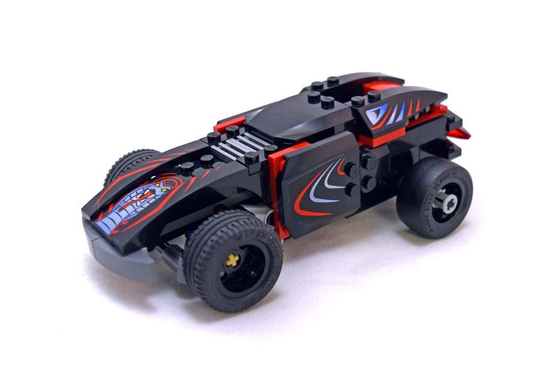 Fire Spinner 360 - LEGO set #8669-1