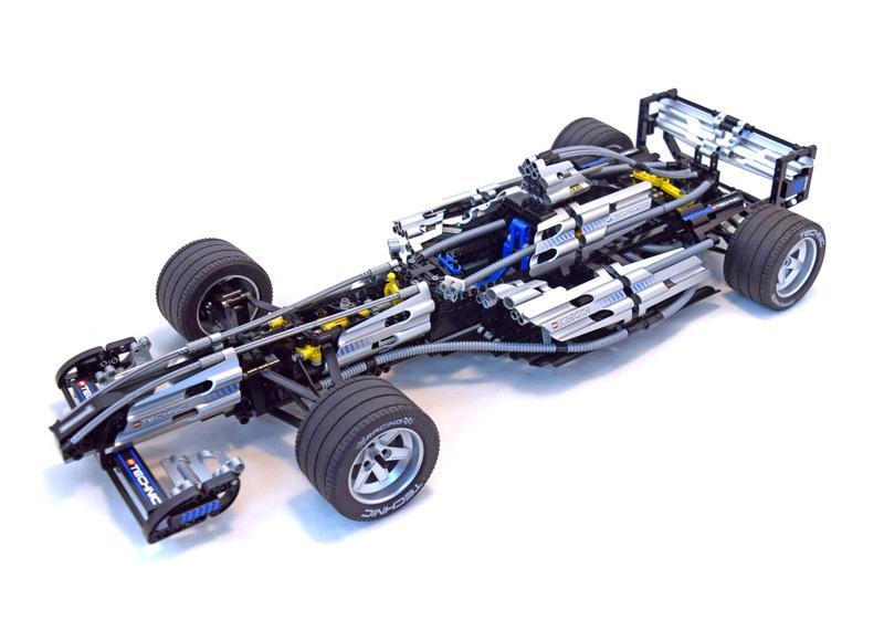 Silver Champion - LEGO set #8458-1