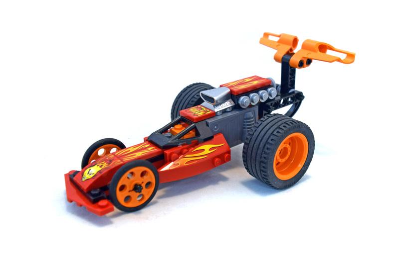 Action Wheelie - LEGO set #8667-1