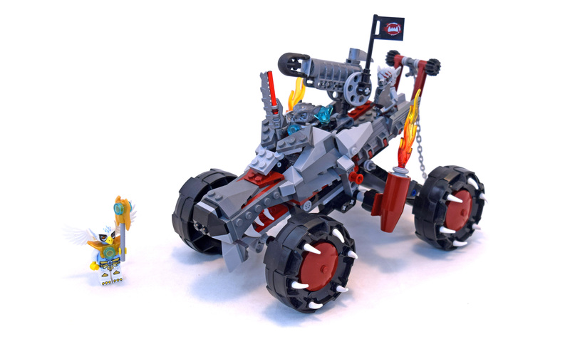 Wakz' Pack Tracker - LEGO set #70004-1