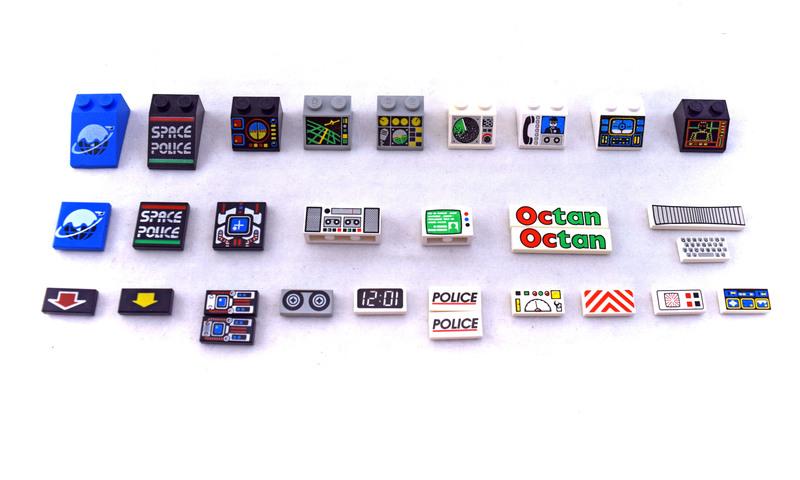 Decorated Elements - LEGO set #5121-1