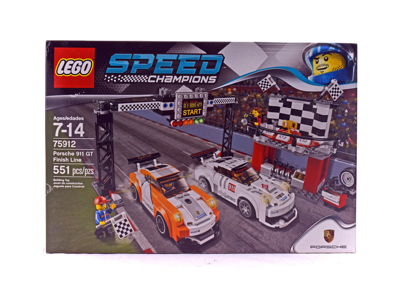 Porsche 911 GT Finish Line - LEGO set #75912-1 (NISB)