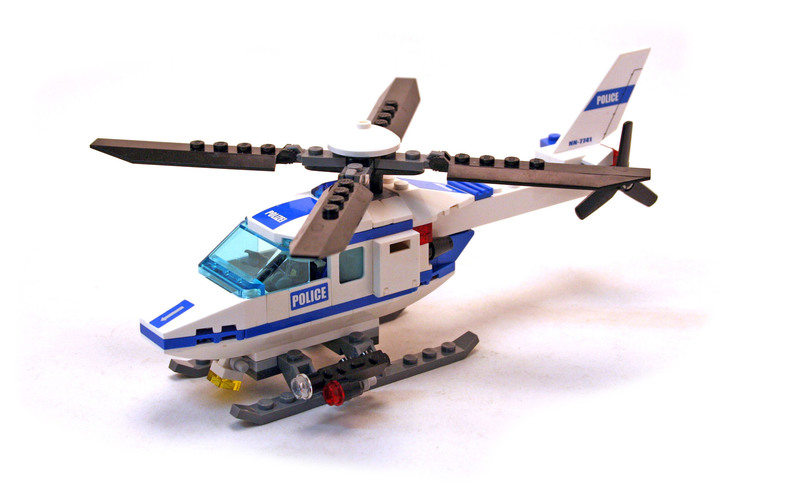 Police Helicopter - LEGO set #7741-1