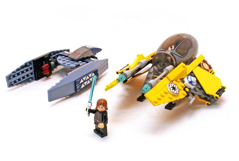 Jedi Starfighter & Vulture Droid - LEGO set #7256-1