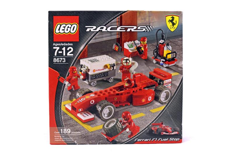 Ferrari F1 Fuel Stop - LEGO set #8673-1 (NISB)