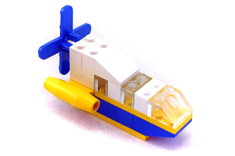 Motion 4B, Sea Skimmer polybag - LEGO set #1649-1