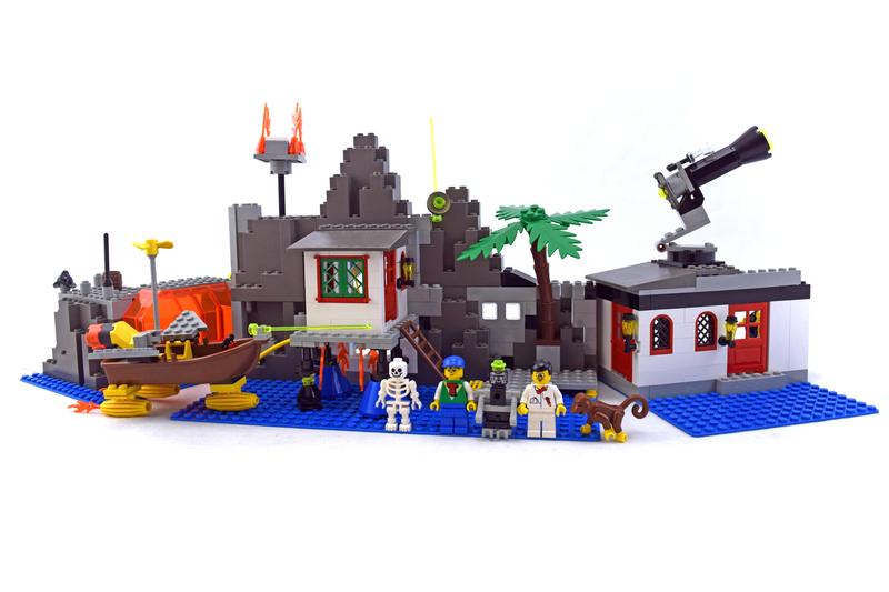 Mystic Mountain Time Lab - LEGO set #6494-1