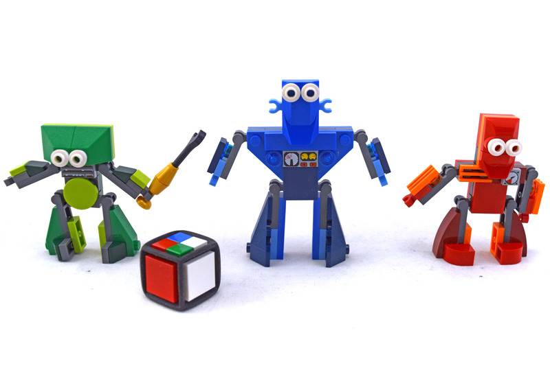Robo Champ - LEGO set #3835-1