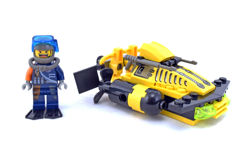Alpha Team Sub-Surface Scooter - LEGO set #4791-1