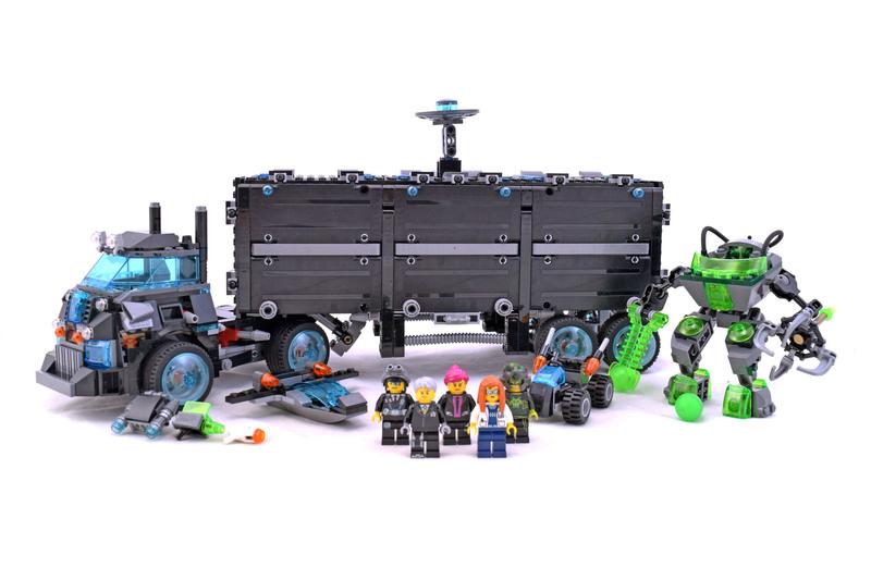 Ultra Agents Mission HQ - LEGO set #70165-1