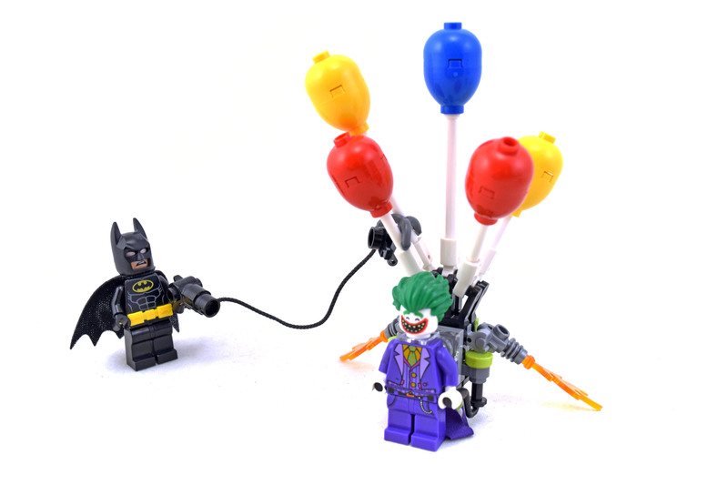 The Joker Balloon Escape - LEGO set #70900-1