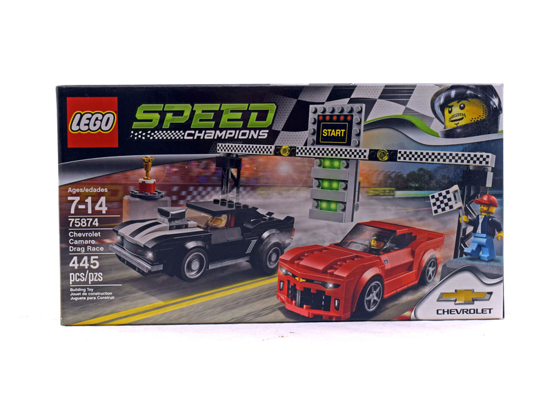 Chevrolet Camaro Drag Race - LEGO set #75874-1 (NISB)
