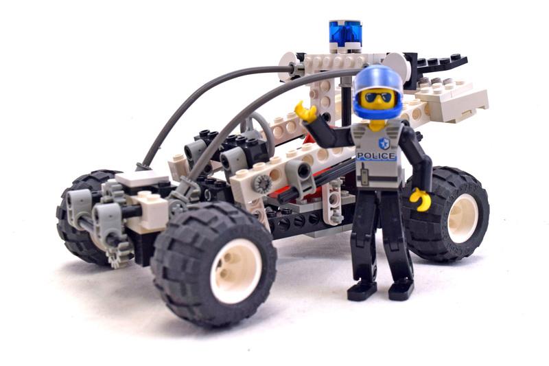 Coastal Cop Buggy - LEGO set #8230-1