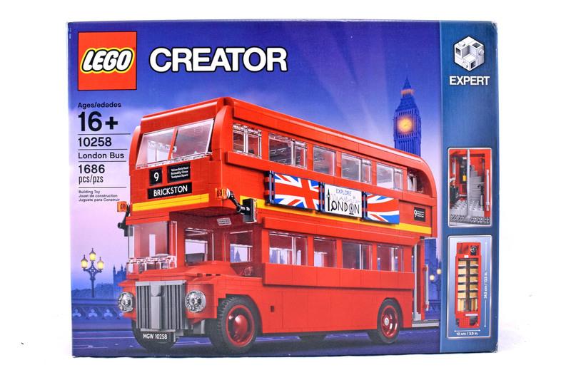Routemaster London Bus - LEGO set #10258-1 (NISB)