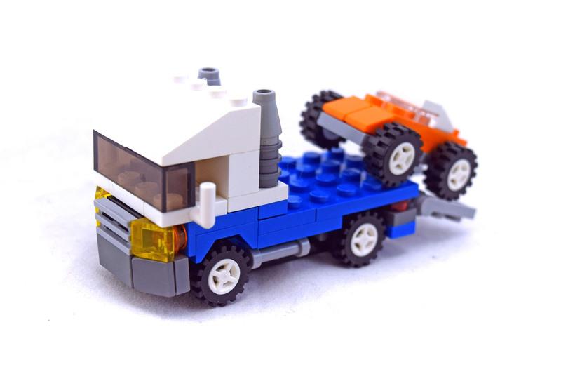 Mini Vehicles - LEGO set #4838-1
