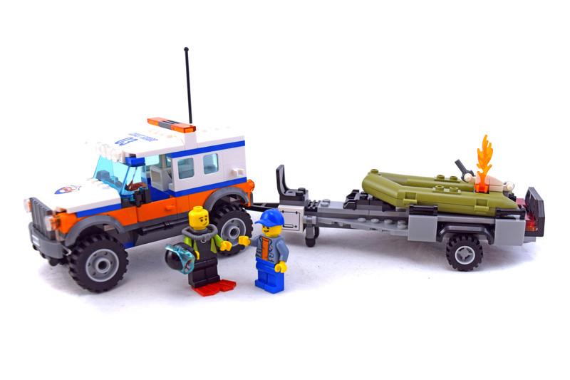 4 x 4 Response Unit - LEGO set #60165-1
