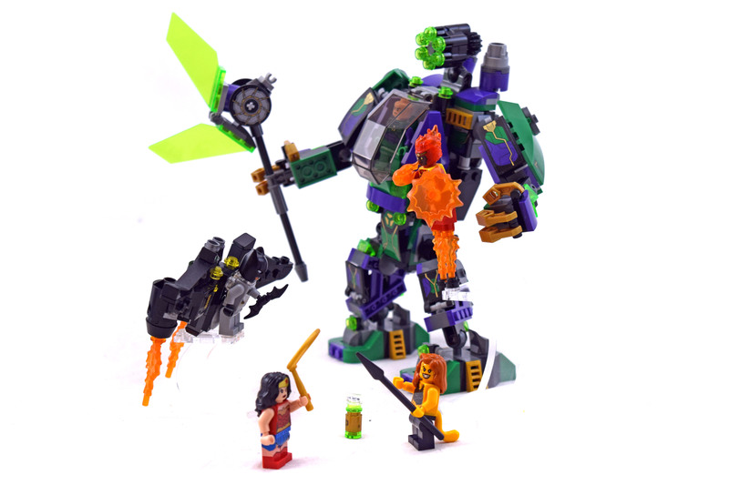 Lex Luthor Mech Takedown - LEGO set #76097-1