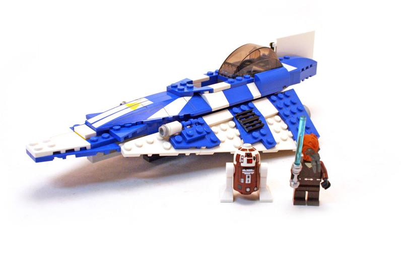 Plo Koon's Jedi Starfighter - LEGO set #8093-1