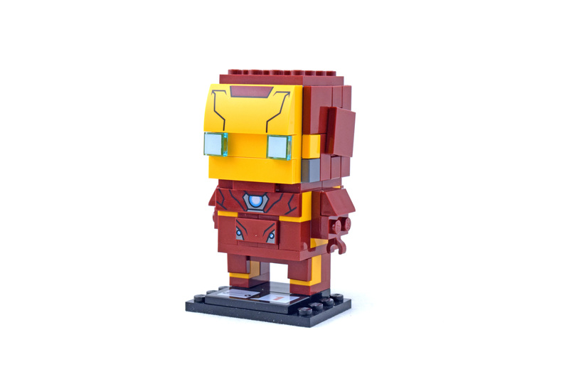 Iron Man - LEGO set #41590-1