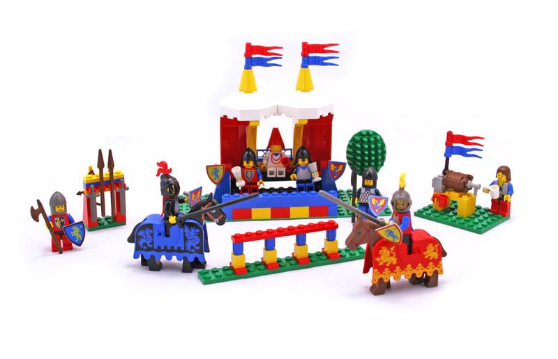 Knight's Challenge - LEGO set #6060-1