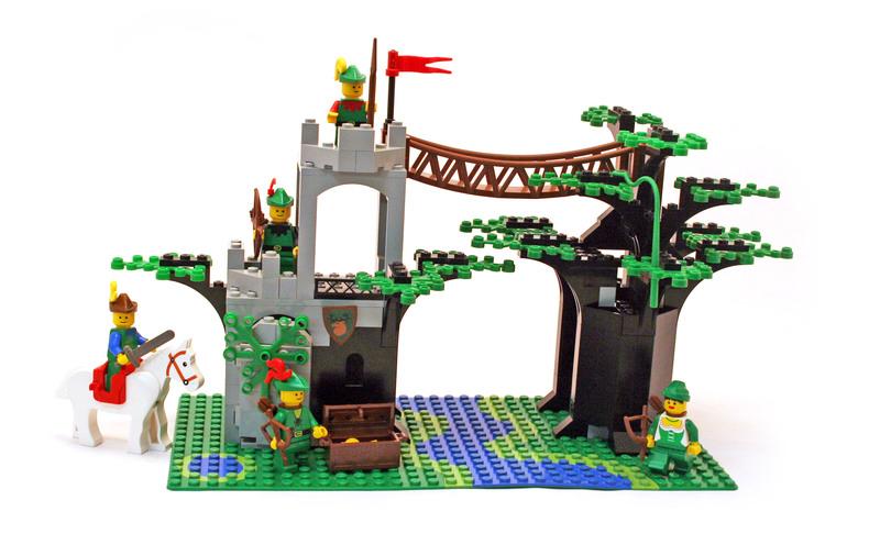 Forestmen's Crossing - LEGO set #6071-1