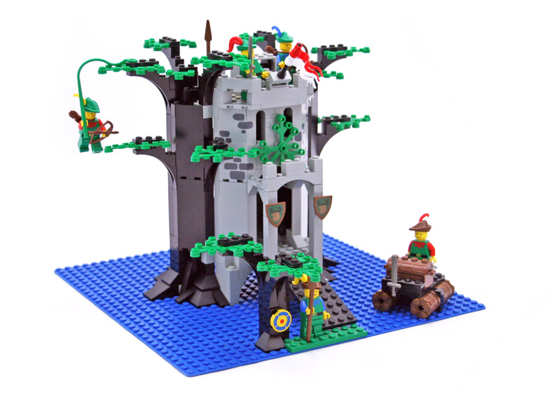 Forestmen's River Fortress - LEGO set #6077-2