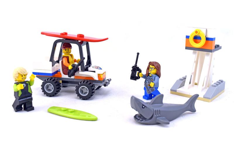 Coast Guard Starter Set - LEGO set #60163-1